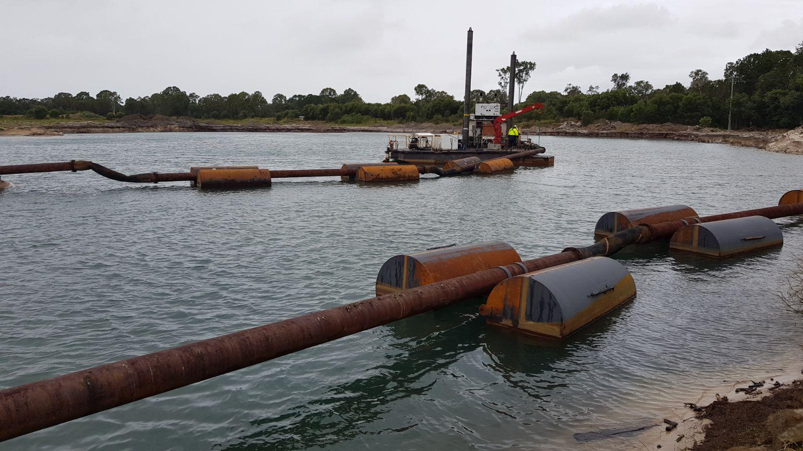 Ways to float industrial pipe - Coerco